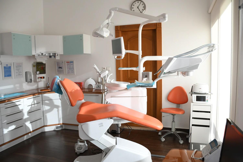 Dental Clinic Orange Seat