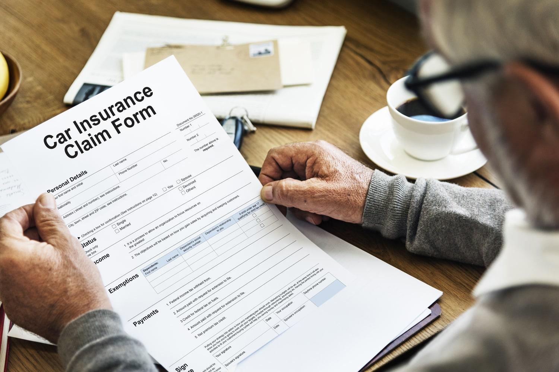 car claim form
