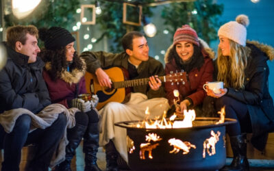 Backyard Entertaining Safety and Some Tips to Keep You Safe While You Gather Outside the Cold