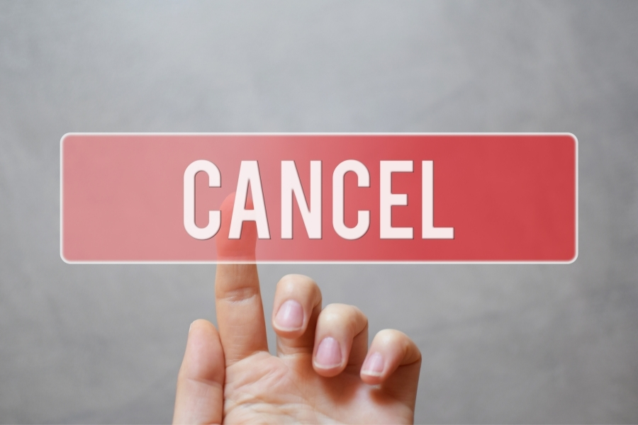 The Difference between Cancelation and Non-renewal