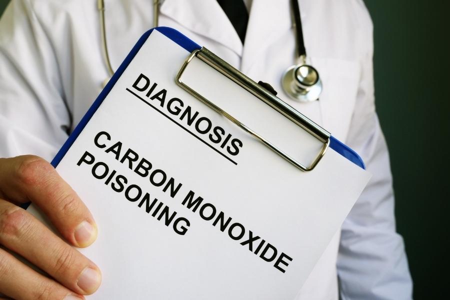 Diagnosis of carbon monoxide poisoning